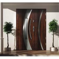 Drzwi zewnętrzne stalowe dwuskrzydłowe